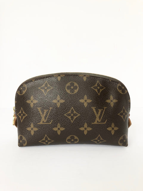 Louis Vuitton Monogram Canvas Cosmetic Pouch PM