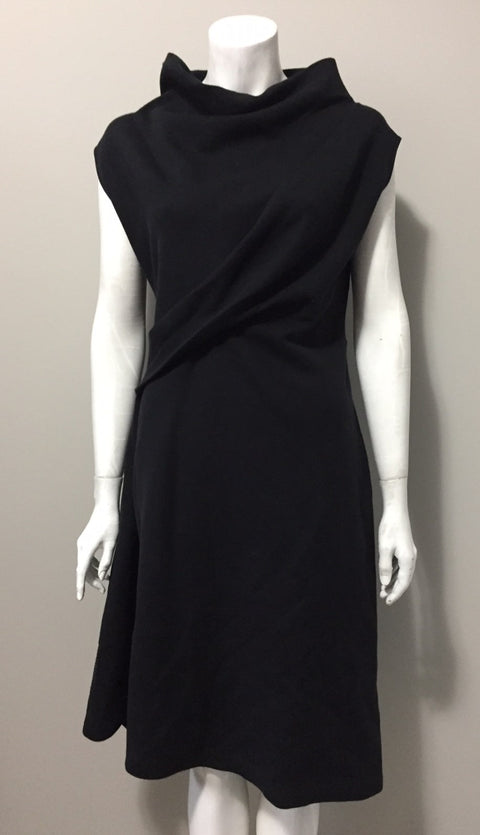 Cedric Charlier Mock Neck Sleeveless Fleece Sweater Dress Size 6