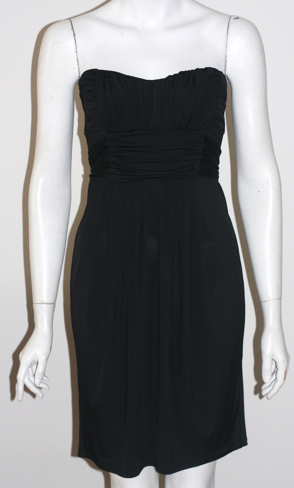 Brand New Sakura Strapless Black Dress - Joyce's Closet  - 1