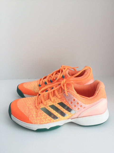 Adidas Orange Sprint Frame Adiprene Runners Size 8.5