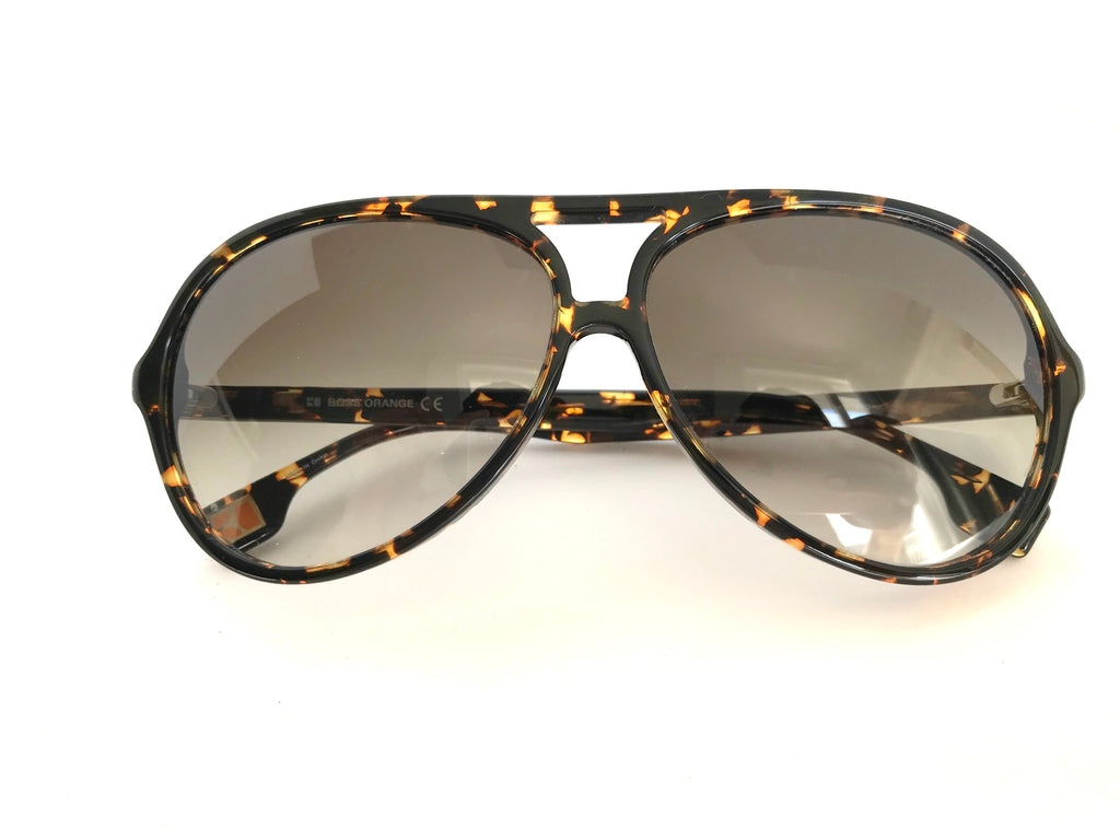 Boss Orange Tortoise Aviator Sunglasses