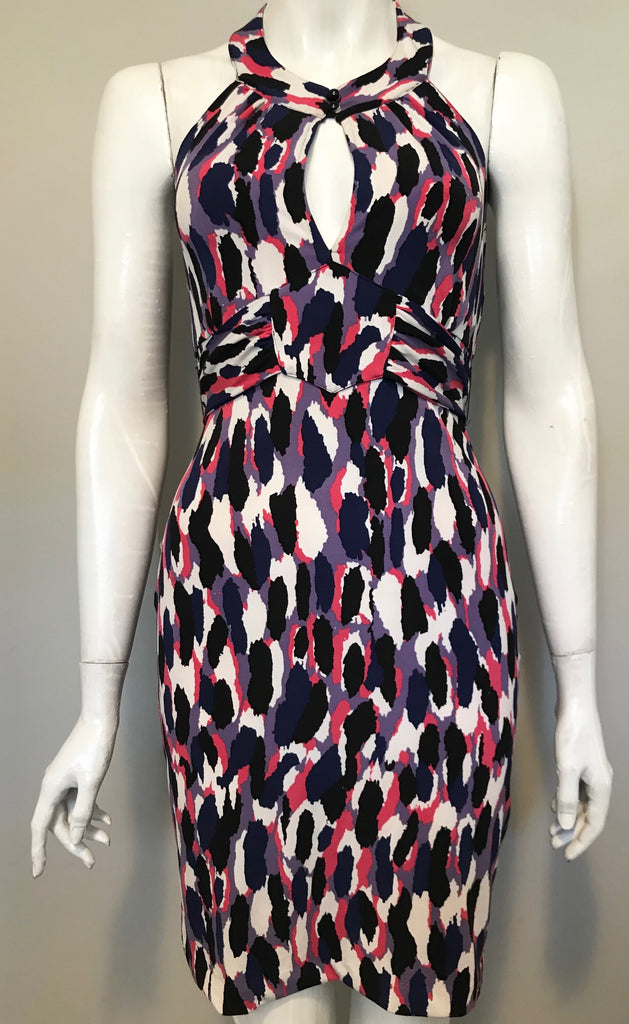 Guess Multi-Colored Halter Dress Size S