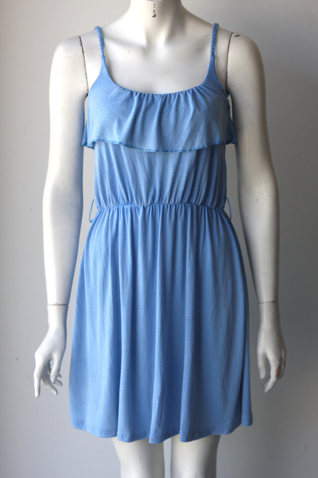 Brand New Anama Light Blue Sleeveless Tank Dress - Joyce's Closet  - 1