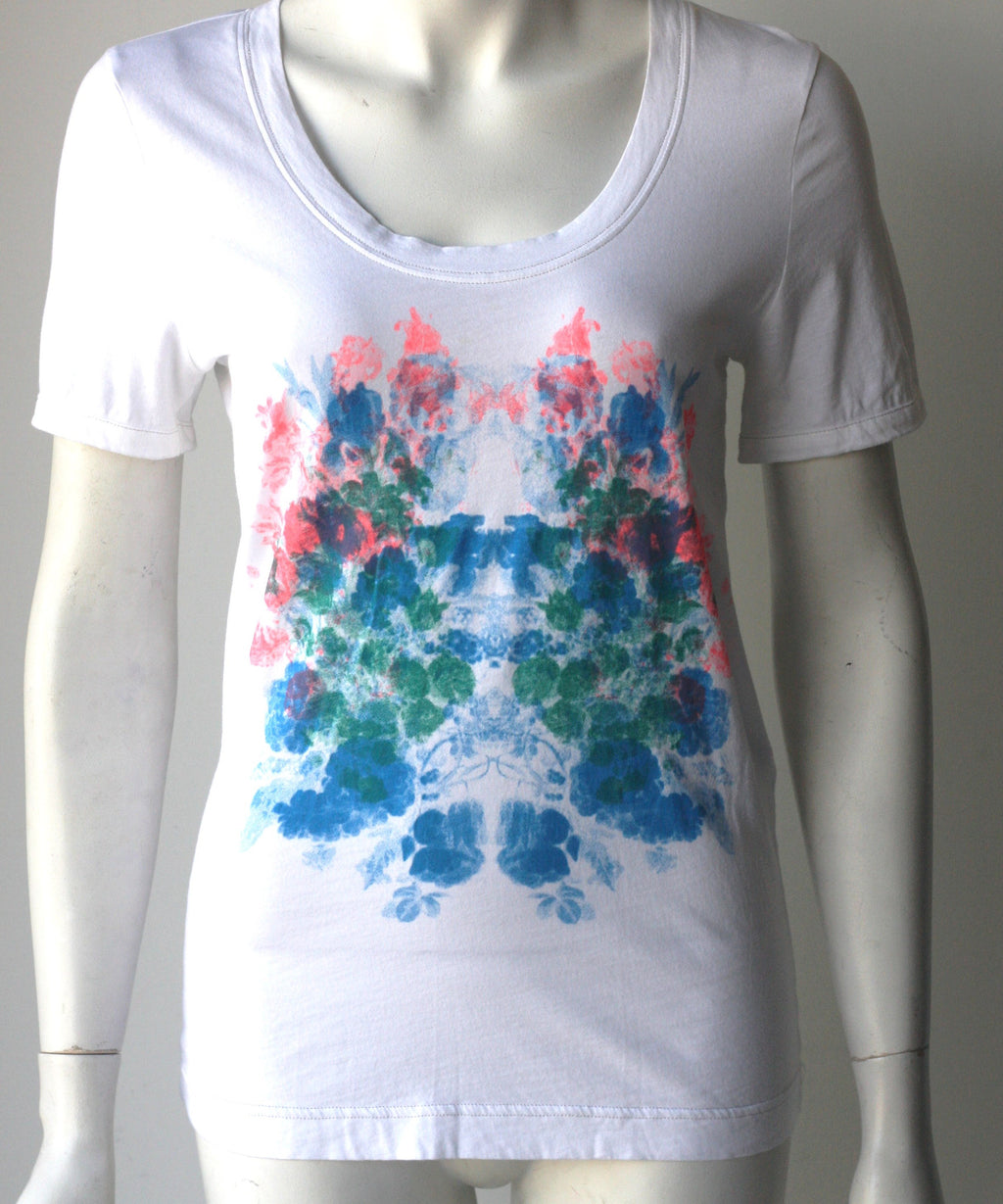 Marc By Marc Jacobs Crew Multi Color Splash T-Shirt - Joyce's Closet  - 1