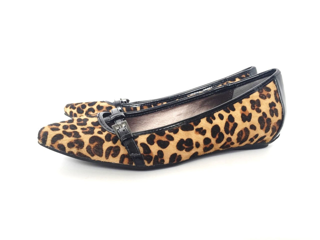Brand New Kenneth Cole Reaction Leopard Uptown Girl Ballet Flats Size 6