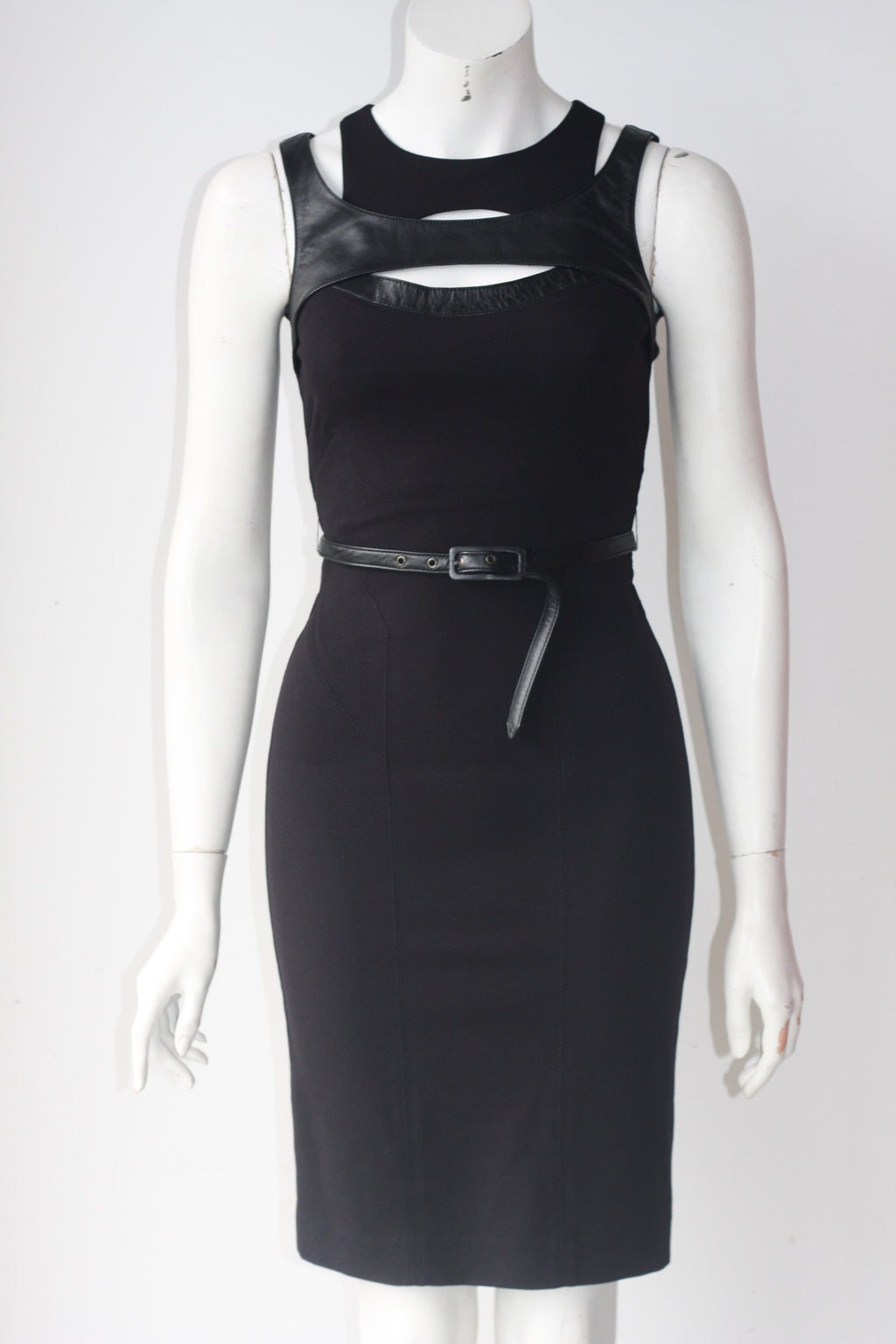 Guess By Marciano Black Cut-Out Dress - Joyce's Closet  - 1