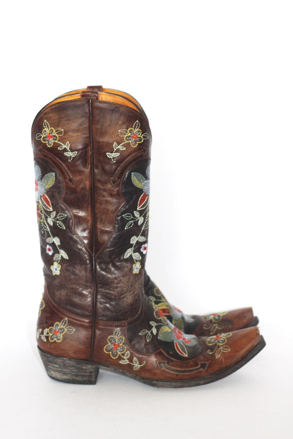 Old Gringo Bonnie Brass Embellished Cowboy Boots - Joyce's Closet  - 1