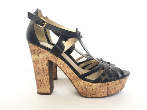 G by Guess Black Platform Sandals Size 10