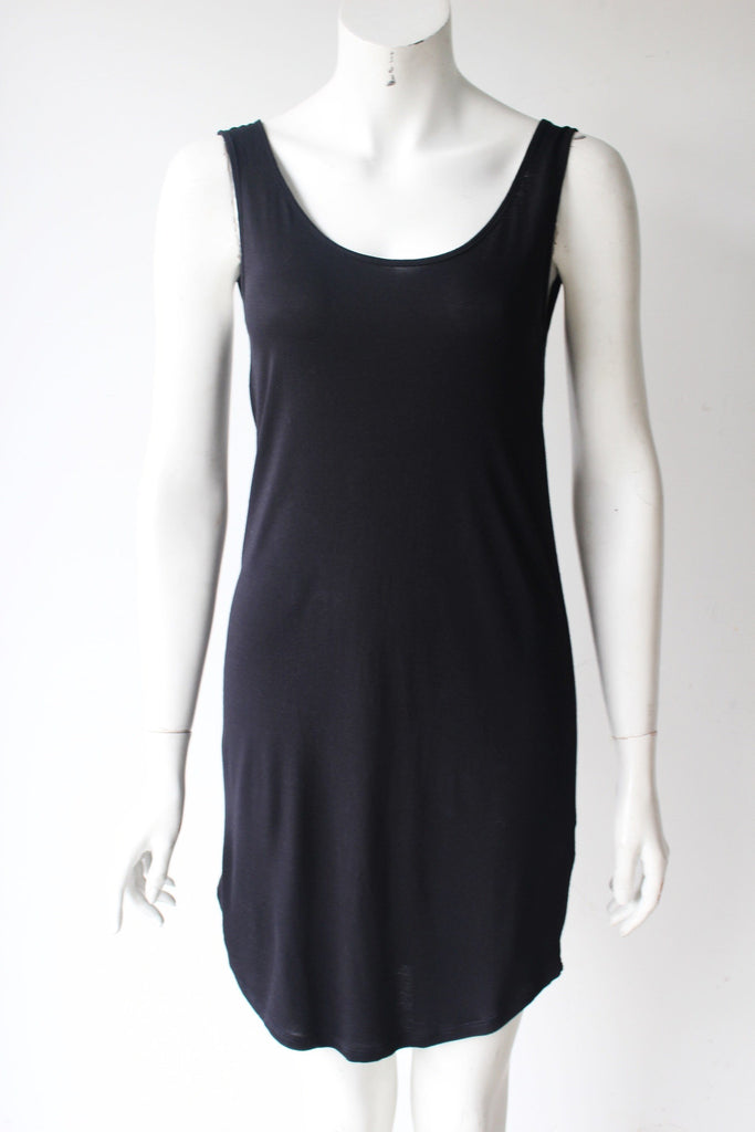 Oak & Fort Black Sleeveless Scoop Back Dress - Joyce's Closet  - 1
