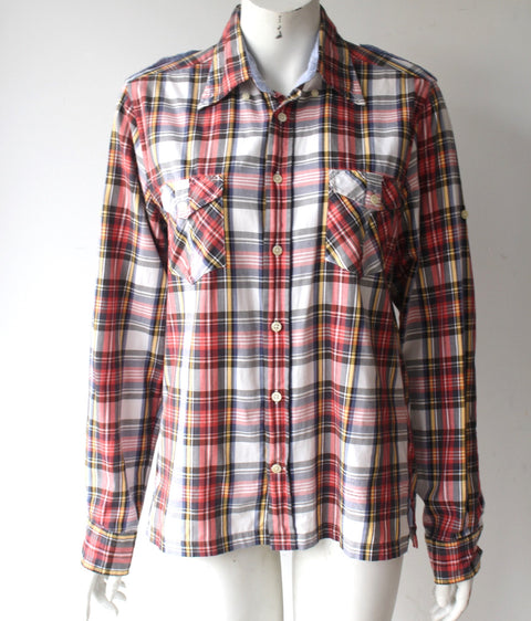 Gant Multi-Color Plaid Button-Up Shirt - Joyce's Closet  - 1