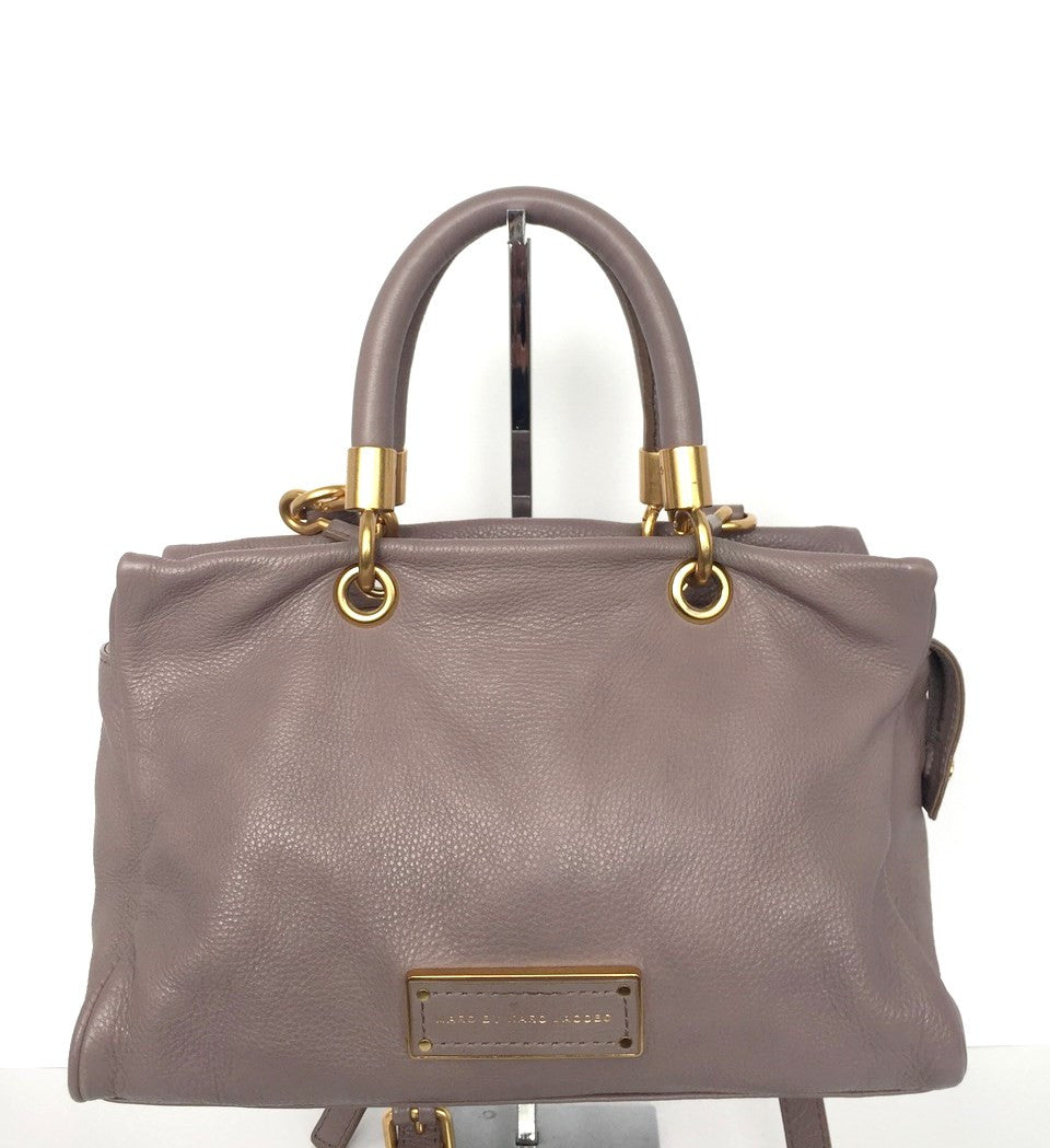 "Marc by Marc Jacobs Grey "" To Hot To Handle"" Satchel"