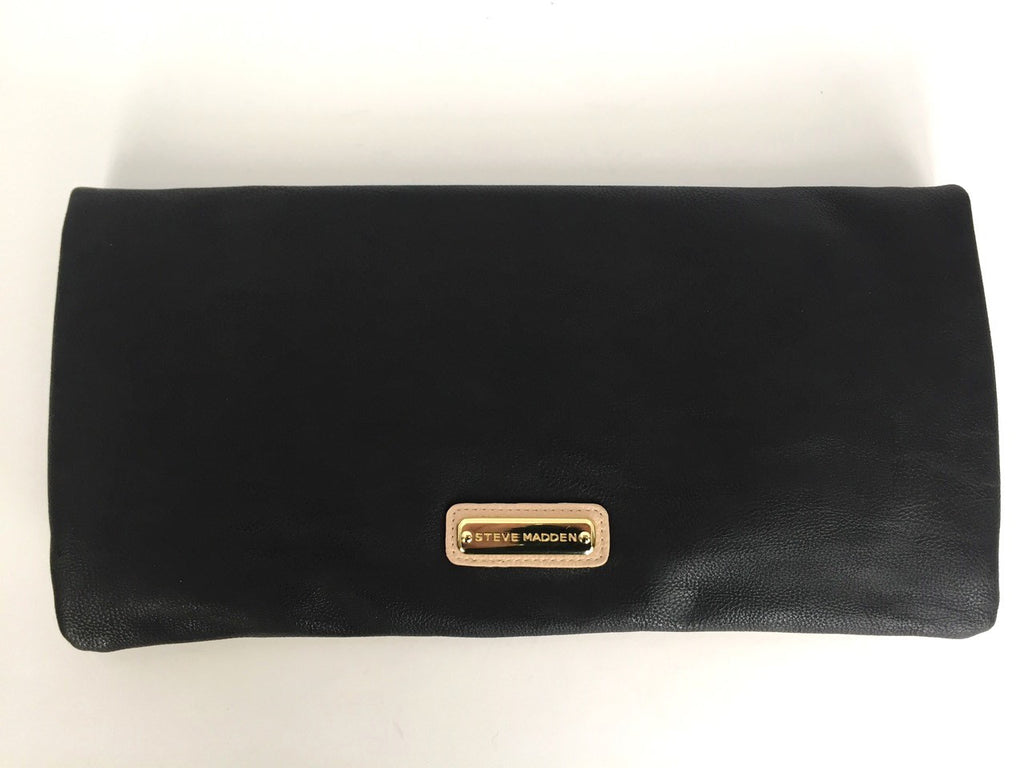 Steve Madden Two Tone Fold Over Clutch