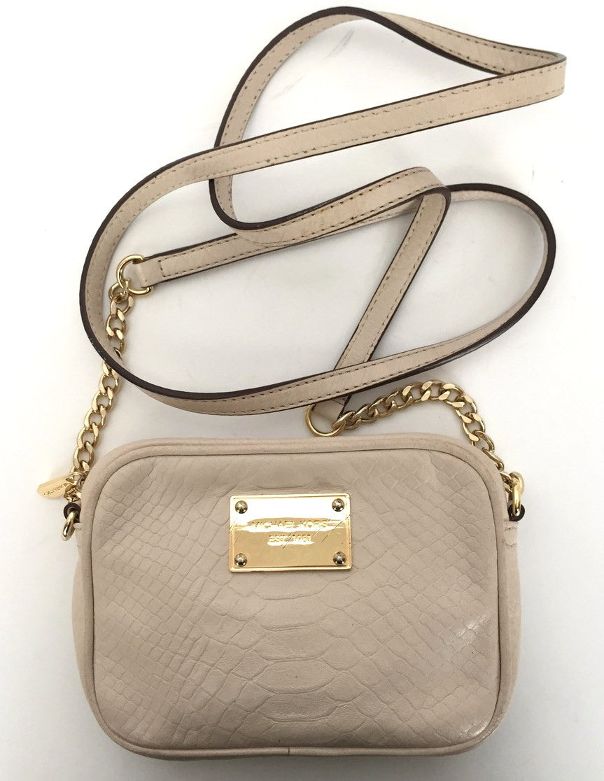 Michael Kors Small Cream Cross Body Bag