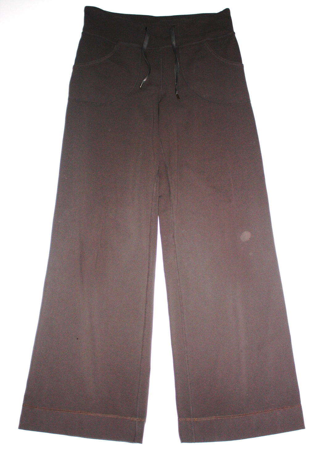 Lululemon Athletica Brown Wide Leg Pants - Joyce's Closet  - 1