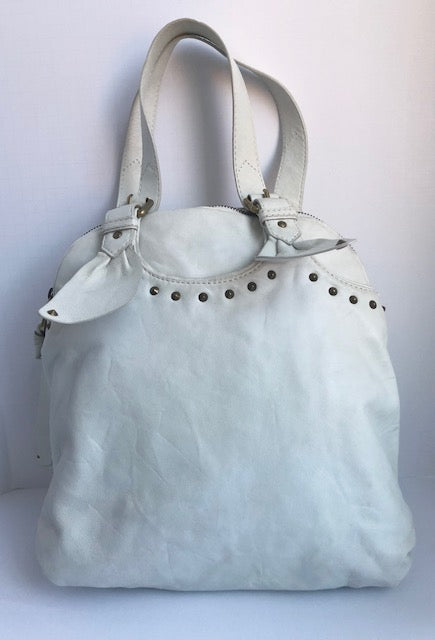 Marc By Marc Jacobs Cream Hobo Bag