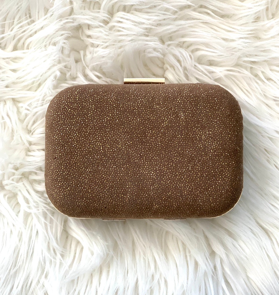 Le Chateau Gold Clutch