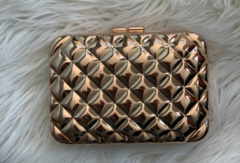 Sfera Rosegold Box Clutch