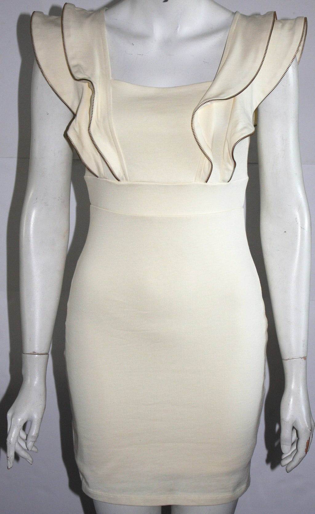 Ted Baker London Cream Cap Sleeve Dress - Joyce's Closet  - 1