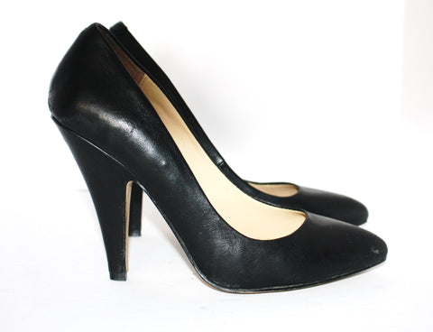 Aldo Black Leather Pumps Size 6.5