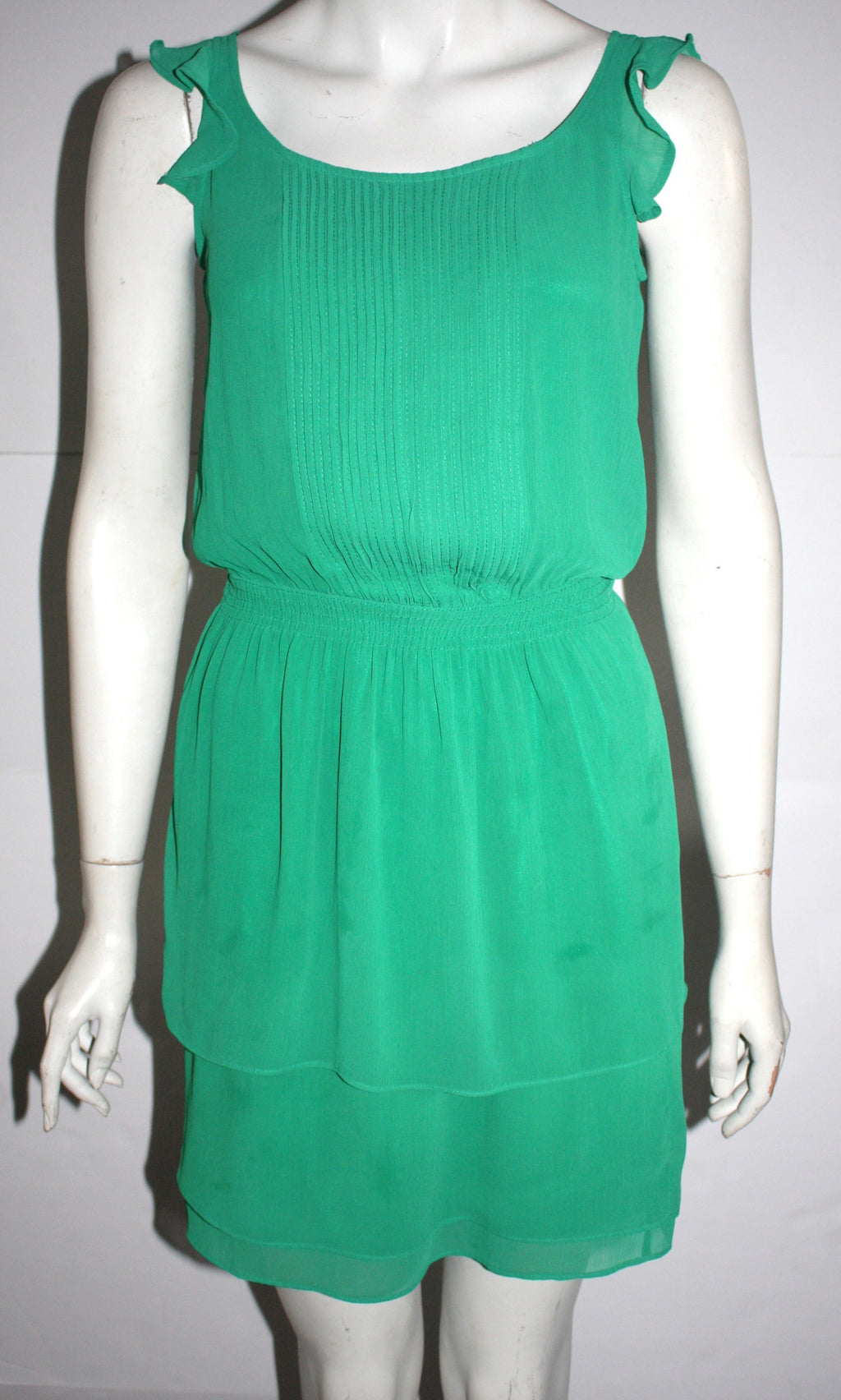 Brand New Tommy Hilfiger Green Sun Dress Size XS