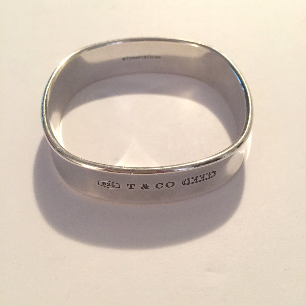 bangles sterling cushion img products square tiffany co collection silver bracelet bangle
