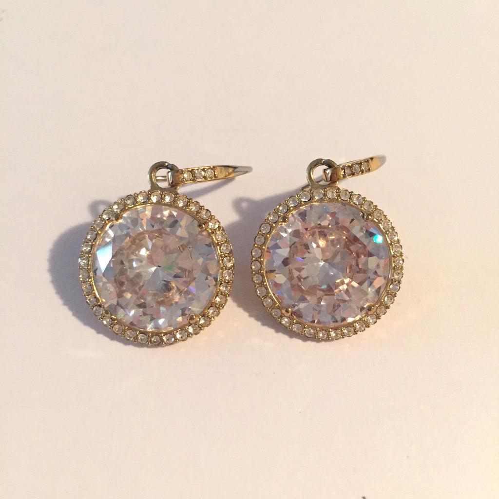 Michael Kors Rhinestone Drop Earring - Joyce's Closet  - 1