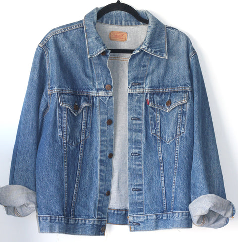 Vintage Levi's Oversized Denim Jacket - Joyce's Closet  - 1