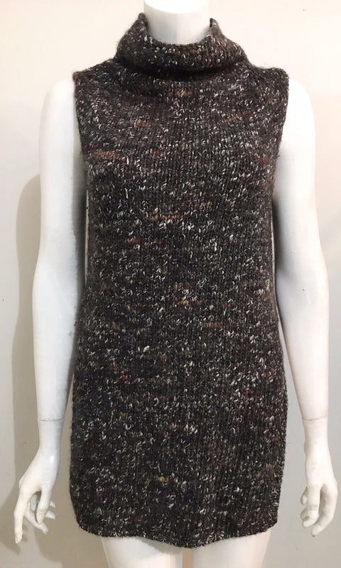 Wilfred Durandal Dark Slate Mix Sleeveless Sweater Size XS