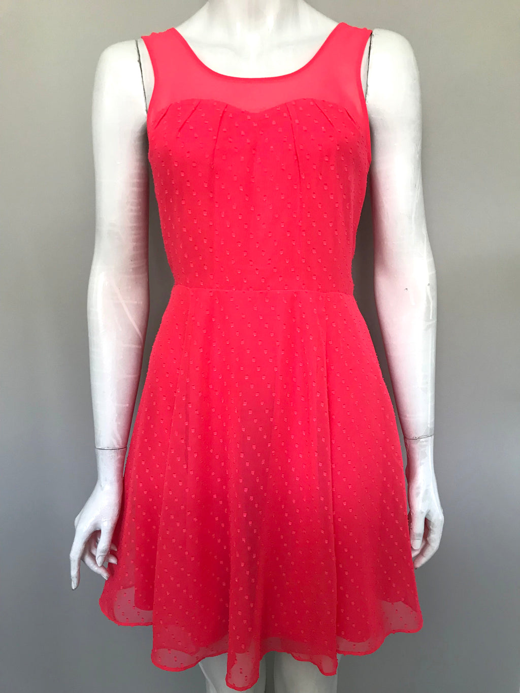 Express Coral Sleeveless Dress Size 4