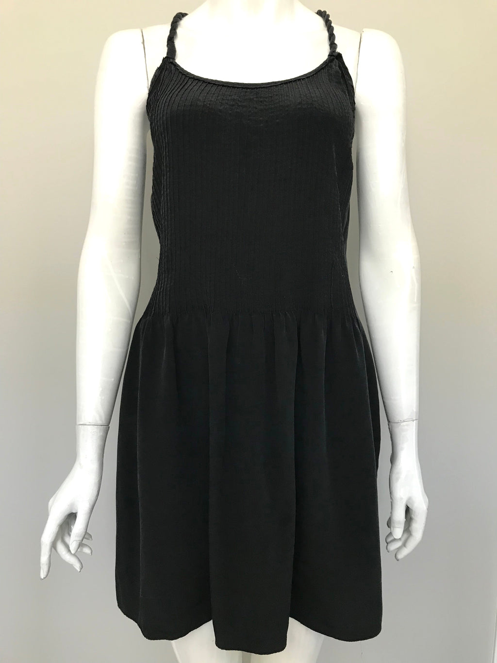 Banana Republic Grey Silk Dress Size 6