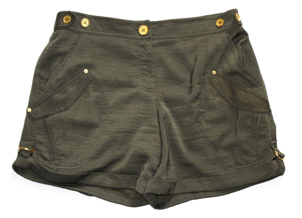 Armani Exchange Army Green Utility Shorts - Joyce's Closet  - 1