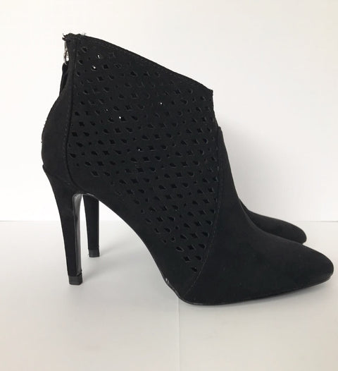 Brand New Zara Basic Black Ankle Booties Size 6