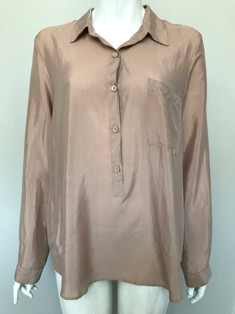 BCBGeneration Blush  Blouse Size L