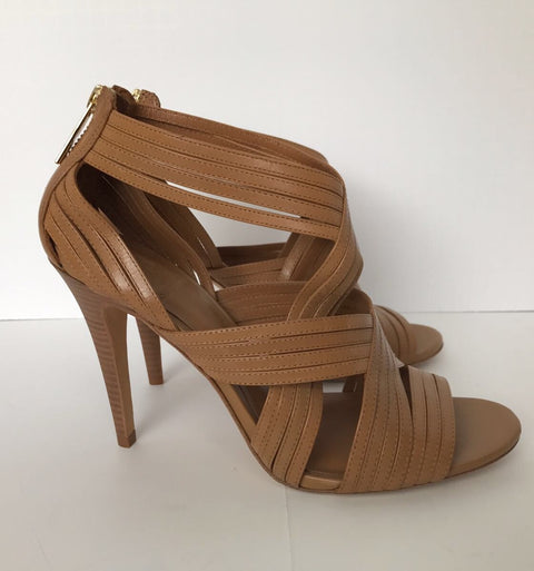 Tory Burch Brown Strappy Heels Size 9.5