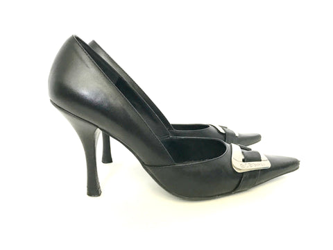 BCBGirls Black Pointed Toe Pumps Size 6