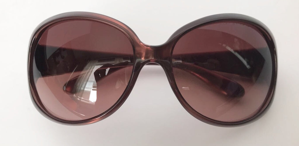 Marc by Marc Jacobs Round Brown Sunglasses