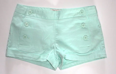 Talula Mint Green Sailor Shorts - Joyce's Closet  - 1