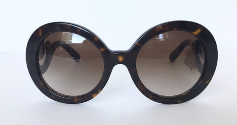 Brand New Prada Baroque 55M Tortoise Sunglasses
