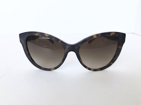 Burberry Dark Matte Havana 4220 Sunglasses