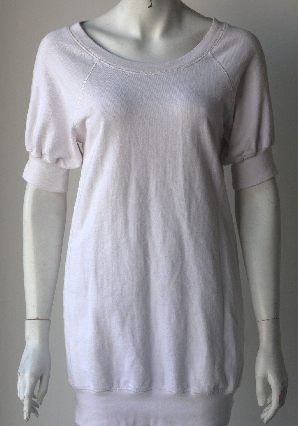French Connection Denim White Sweater Dress - Joyce's Closet  - 1