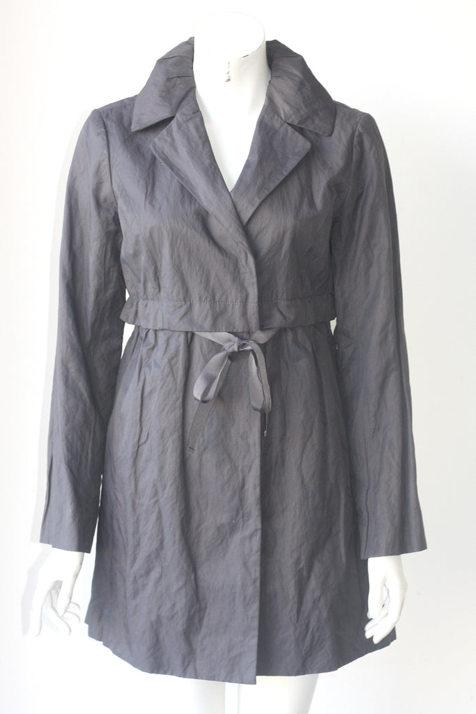 Loft Charcoal Grey Longsleeve Jacket - Joyce's Closet  - 1