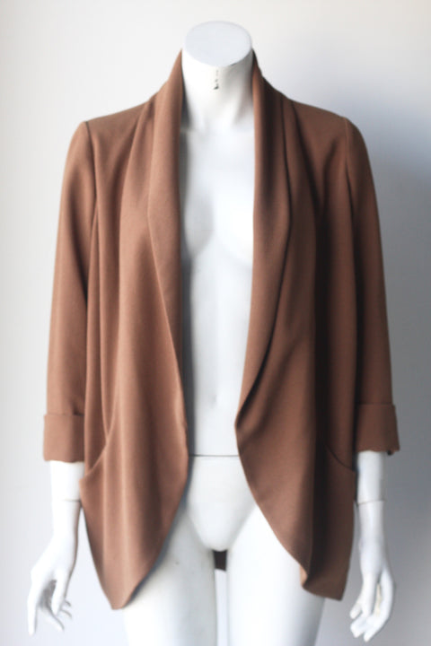 Wilfred Chevalier Copper Brown Blazer - Joyce's Closet  - 1