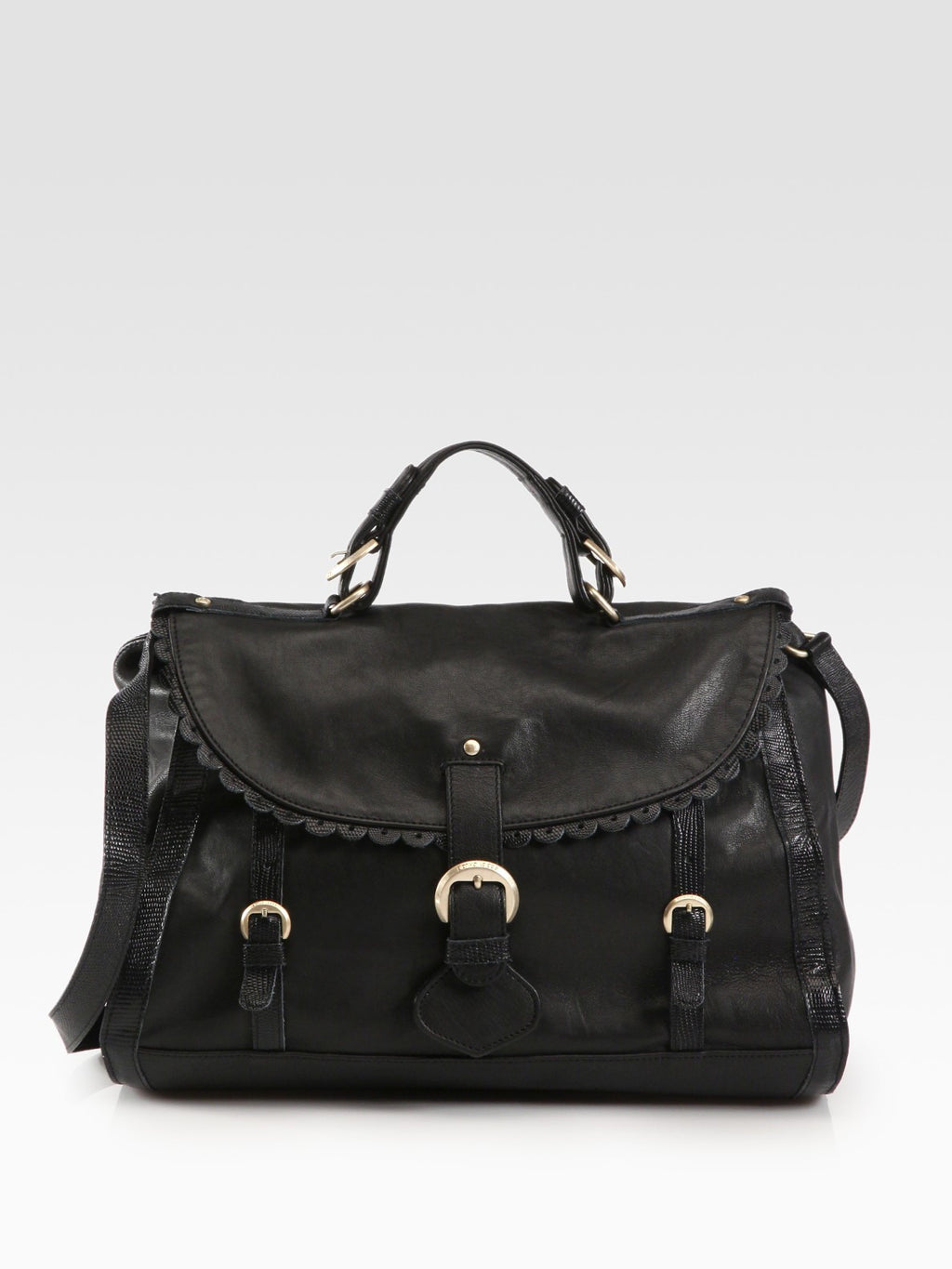 See By Chloe Black Poya Satchel - Joyce's Closet  - 4