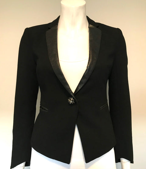 Miss Sixty Black Blazer Jacket Size XS