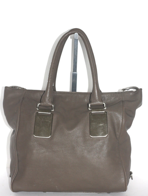 Banana Republic Large Grey Tote Shoulder Bag - Joyce's Closet  - 1