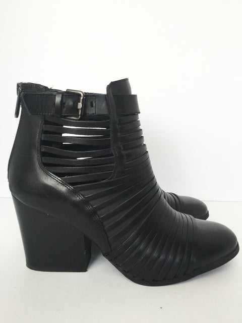 Circus By Sam Edelman Black Talon Ankle Booties Size 39