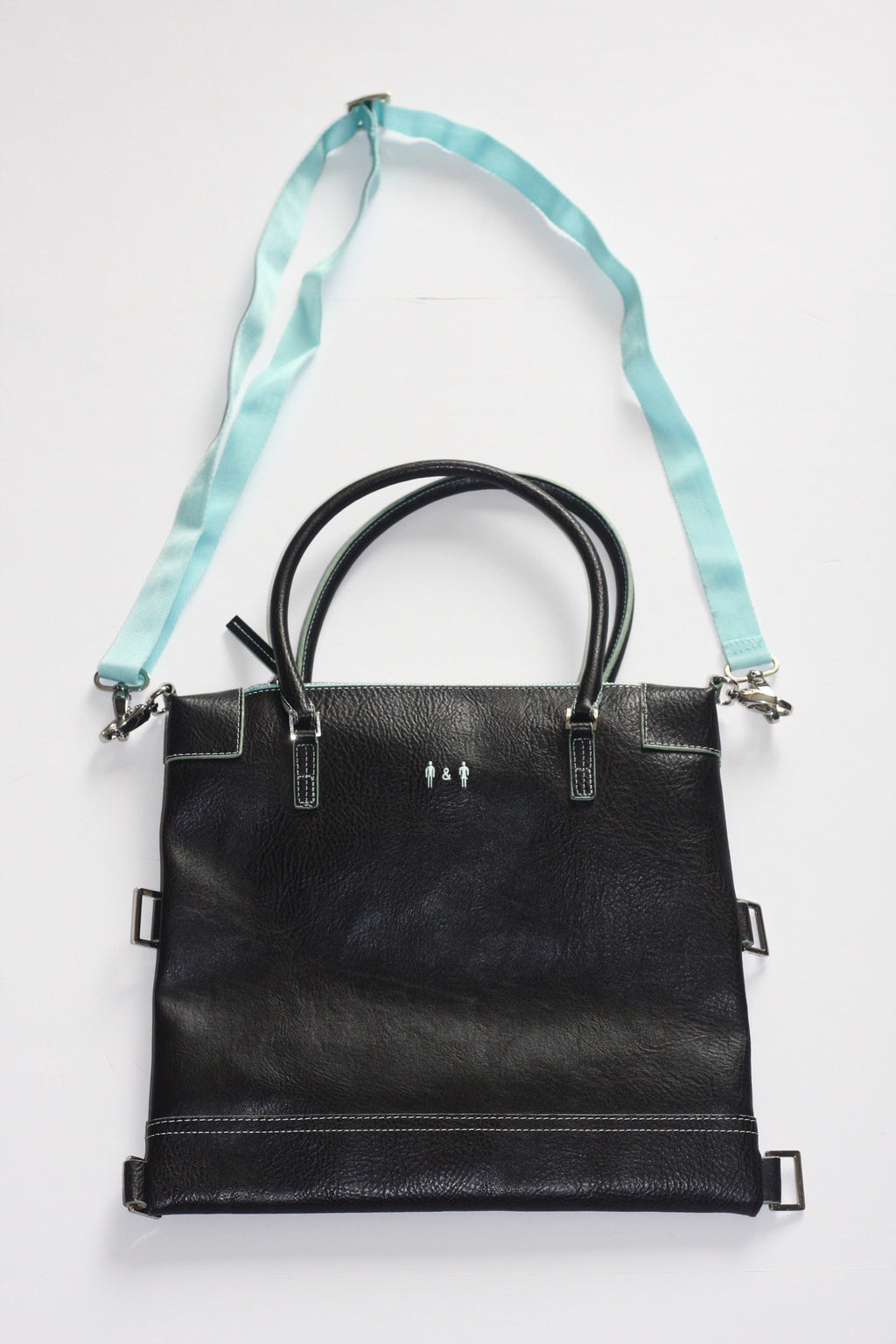Via Vegan By Mat & Nat Dark Brown  Cross Body Bag - Joyce's Closet  - 1
