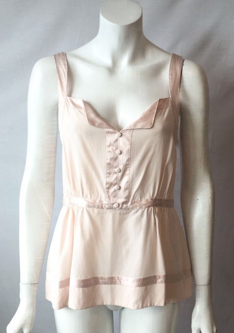Marc by Marc Jacobs Blush Pink Blouse Size 6