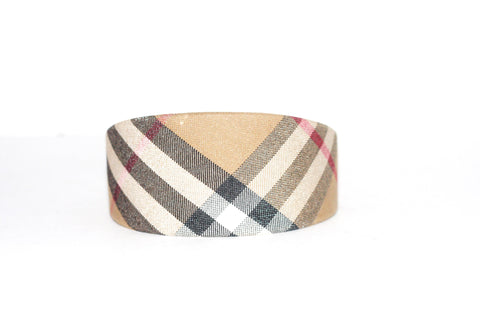 Burberry London Classic Nova Check Headband - Joyce's Closet  - 1