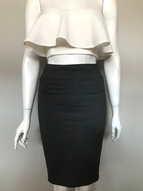 Guess by Marciano Grey Pencil Skirt Size 2
